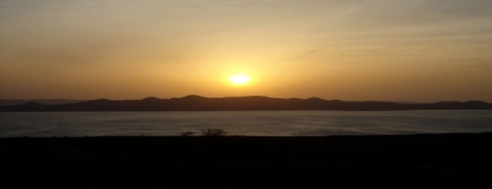 Lake Turkana in Northern Kenya, click the link to see our video!